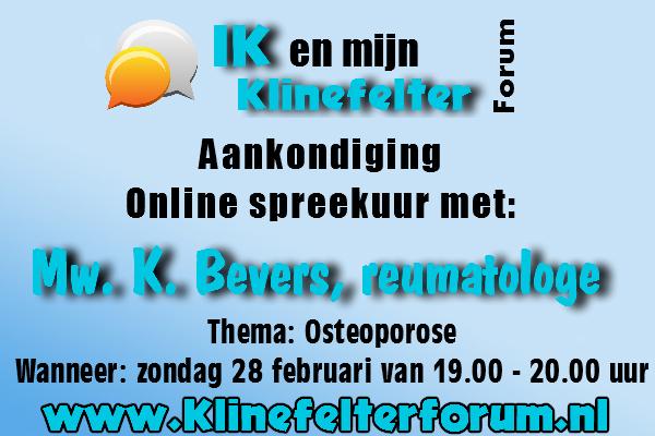 online spreekuur osteoporose