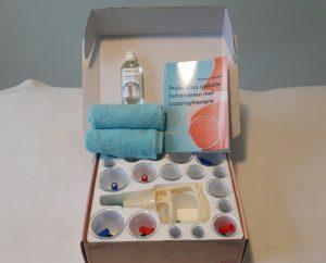 Thuiscursuspakket cuppingtherapie bij cellulite